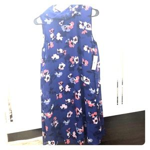 Royal blue floral Jessica Howard dress